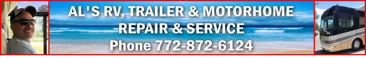 RV and MotorHome Repair Service in Stuart, Palm City, Jensen Beach, PSL, Martin County Florida
